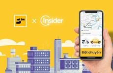 Be bắt tay với Insider tăng tốc trong đường đua ứng dụng đặt xe