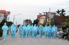 Bộ Y tế kiểm tra công tác phòng chống dịch COVID-19 tại Hà Nam