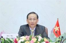 Đảng PAP, Chính phủ Singapore coi trọng thúc đẩy quan hệ với Việt Nam