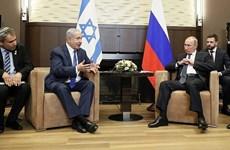 Lãnh đạo Nga và Israel trao đổi về các vấn đề toàn cầu