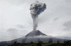 Indonesia: Núi lửa Sinabung tiếp tục phun trào cột tro bụi cao 2.500m