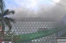 Cháy quán bar nằm ở ngay trung tâm thành phố Cà Mau