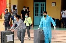 Nam Định: Bàn giao 121 trường hợp hoàn thành cách ly tập trung