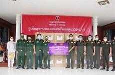 Cộng đồng người Việt tiếp tục chung tay cùng Chính phủ Lào chống dịch