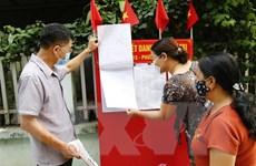 Thêm nhiều địa phương hoàn thành việc tiếp xúc cử tri của các ứng viên