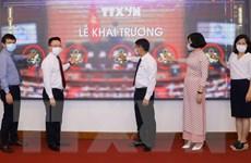 Hình ảnh lễ ra mắt trang thông tin đặc biệt về bầu cử Quốc hội