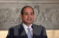 Tổng thống Ai Cập tới Pháp tham dự các hội nghị quan trọng về khu vực