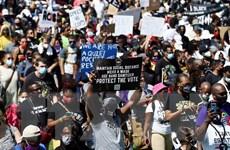 Mỹ: Biểu tình tại Oakland nhằm phản đối phân biệt chủng tộc