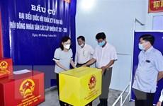 Hội đồng Bầu cử Quốc gia đồng ý cho Bạc Liêu có khu vực bỏ phiếu sớm