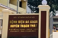 Phong tỏa tạm thời Khoa Truyền nhiễm Bệnh viện Đa khoa Thạch Thất