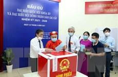 99,13% cử tri thành phố Hà Nội đã đi bỏ phiếu bầu cử