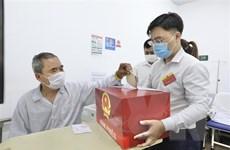 Bộ Nội vụ: Đến 19 giờ ngày 23/5, cả nước có 99,16% cử tri đi bầu cử