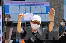 Nhiều địa phương đã kết thúc bầu cử và bắt đầu công tác kiểm phiếu