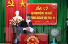 Bầu cử Quốc hội: Các địa phương công bố hoàn thành bầu cử