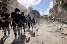 Xung đột Israel-Palestine: Mỹ cam kết hỗ trợ tái thiết Gaza