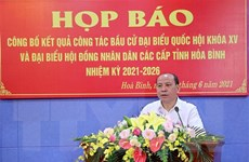 Thông báo kết quả bầu cử tại tỉnh Hòa Bình và Khánh Hòa