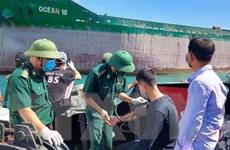 Quảng Bình: Tàu cá bị tàu hàng đâm chìm, ba ngư dân được cứu an toàn