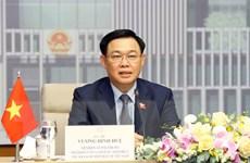 Chủ tịch QH Vương Đình Huệ hội đàm với Chủ tịch Hạ viện Australia