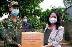 Phó Chủ tịch nước thăm lực lượng phòng chống dịch biên giới An Giang