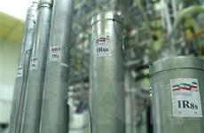 Iran tuyên bố sản xuất 6,5kg urani được làm giàu tới 60%