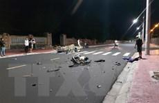 Phú Yên: Hai xe môtô va chạm giữa đêm khiến ba người thương vong