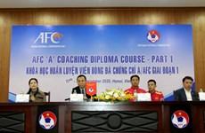 VFF được tổ chức khóa học và cấp chứng chỉ huấn luyện viên của AFC
