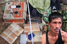 Bắt đối tượng vận chuyển 38.000 viên ma túy từ Lào vào Việt Nam