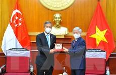 Tăng cường giao lưu giữa nhân dân Việt Nam và Singapore
