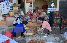 Lâm Đồng ''tiếp'' nông sản cho Thành phố Hồ Chí Minh chống dịch