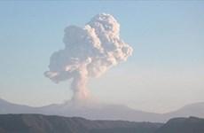 Nhật Bản: Núi lửa Otake phun trào, đất đá văng xa gần 1km