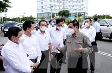Thủ tướng kiểm tra công tác phòng, chống dịch tại TP.HCM