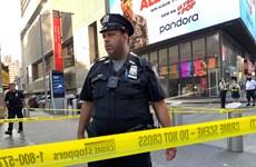 Mỹ: Nổ súng tại Quảng trường Thời đại ở thành phố New York