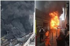 Anh: Cháy lớn tại thủ đô London, phong tỏa nhiều tuyến đường