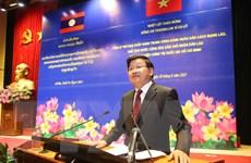 Tổng Bí thư, Chủ tịch nước Lào thăm Học viện Chính trị QG Hồ Chí Minh