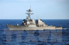Mỹ và Ukraine tập trận hải quân thường niên trên Biển Đen