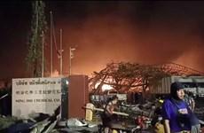 Thái Lan: Nổ nhà máy hóa chất ở ngoại ô Bangkok, sơ tán khẩn dân