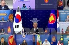 Hàn Quốc thúc đẩy hợp tác thực chất cùng ASEAN hậu COVID-19