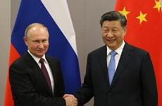 Đằng sau động thái 'nương tựa lẫn nhau' trong quan hệ Nga-Trung