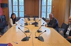Nhóm Nghị sỹ hữu nghị Pháp-Việt khẳng định tiếp tục ủng hộ Việt Nam