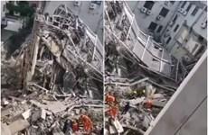 Đã cứu được 7 người trong vụ sập khách sạn tại Trung Quốc
