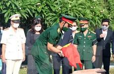 Kon Tum cất bốc, an táng hài cốt liệt sỹ hy sinh trong kháng chiến
