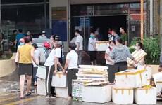 Cháy kèm nhiều tiếng nổ lớn tại siêu thị lớn nhất tỉnh Cao Bằng