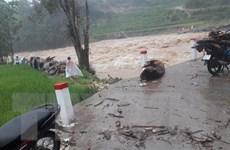 Mưa lớn gây lũ quét, sạt lở đất và ngập úng cục bộ khu vực Bắc Bộ