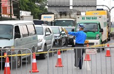 Cảnh ùn tắc phương tiện giao thông tại một số cửa ngõ Thủ đô