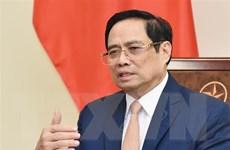 Thủ tướng Phạm Minh Chính điện đàm với Thủ tướng Hàn Quốc Kim Boo Kyum