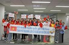 Thị trưởng và người dân Fukushima 'tiếp lửa' đoàn thể thao Việt Nam
