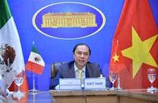 Tăng cường hợp tác giữa bộ, ngành Việt Nam-Mexico dưới nhiều hình thức