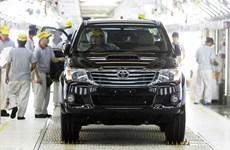 Toyota ngừng hoạt động cả ba nhà máy ở Thái Lan do thiếu phụ tùng