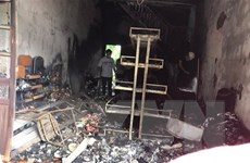 Hải Phòng: Cháy cửa hàng bán tạp hóa khiến hai người tử vong