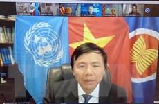Việt Nam ủng hộ lồng ghép vấn đề giới trong phòng chống khủng bố